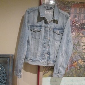 GAP 1969 Iconic Classic Blue Jean Denim Jacket